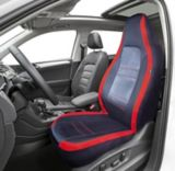 AutoTrends Sport High Back Seat Cover, Red/Black | AutoTrends | Canadian Tire