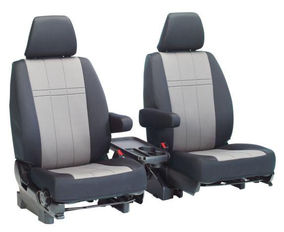 Housses de sièges avant sur mesure, néoprène, type S