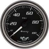 Manomètre de pression d'huile EQUUS, 2 po, chrome   Equus   Canadian Tire