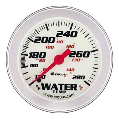 EQUUS 2-5/8-in. Water Temperature Gauge, Aluminum