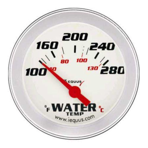 Thermomètre électrique pour l'eau EQUUS, 2 5/8 po, aluminium