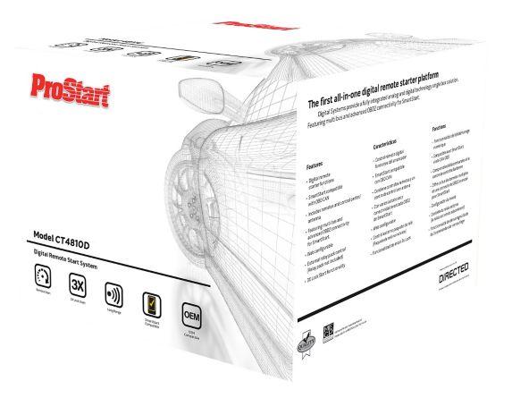 ProStart 5-Button Digital Remote Starter