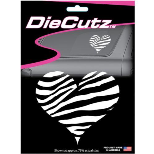 Heart Die Cutz Car Decal