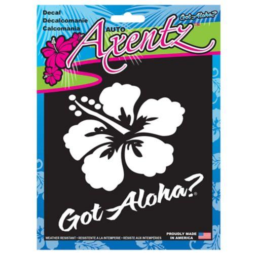 Aloha Die Cut Car Decal