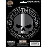 Harley Davidson Wille G Classic Emblem Car Decal | Chroma Graphics | Canadian Tire