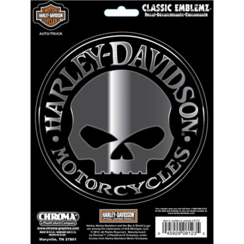 Harley Davidson Wille G Classic Emblem Car Decal
