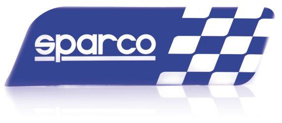 Sparco Car Decal, Blue