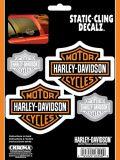 Harley Davidson Cling Decal, 6 x 8-in | Harley-Davidsonnull
