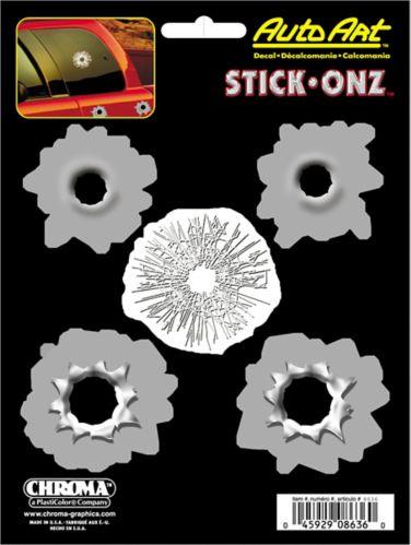 Bullet Holes Vinyl Decal