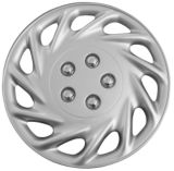 Silver-Lacquer Wheel Cover KT858 | KT | Canadian Tire