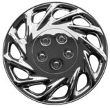 Chrome Finish Wheel Cover KT858 Plate Style, 14-in. | KT | Canadian Tire