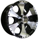 Roues de Remorque Trailer Wheels Style 136 Alloy Wheel, Black | Trailer Wheels | Canadian Tire
