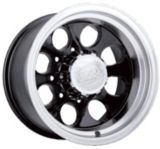 Ion Alloy Style 171  wheel in Matte Black with Machined Lip | ION | Canadian Tire