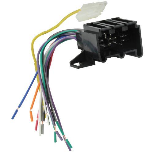 Connecteur de faisceau stéréo E2, GM 1973-1991