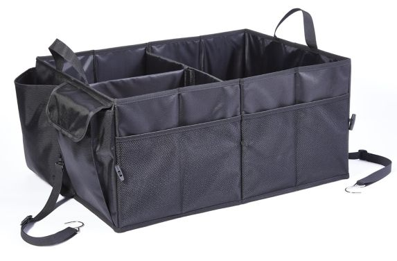 AutoTrends Heavy-Duty Trunk Organizer