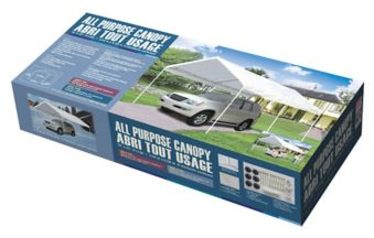 All Purpose Car Canopy, 10x20-ft