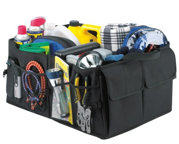 Auto Trends Folding Cargo Bag Trunk Organizer