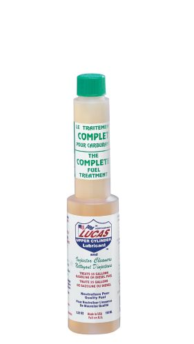 Lucas Fuel Treatment with Upper Cylinder Lubricant & Injector Cleaner, 155-mL
