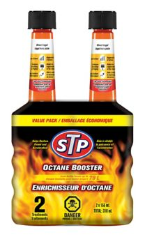 STP Octane Boost, 155-mL, 2-pk