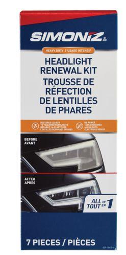 SIMONIZ Headlight Restoration Kit, 7-pc Product image