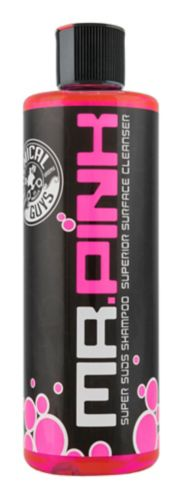 Chemical Guys Mr. Pink Super Suds Shampoo & Superior Surface Cleanser, 473-mL