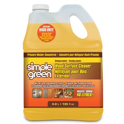 Simple Green Wood Pressure Washer Detergent Product image