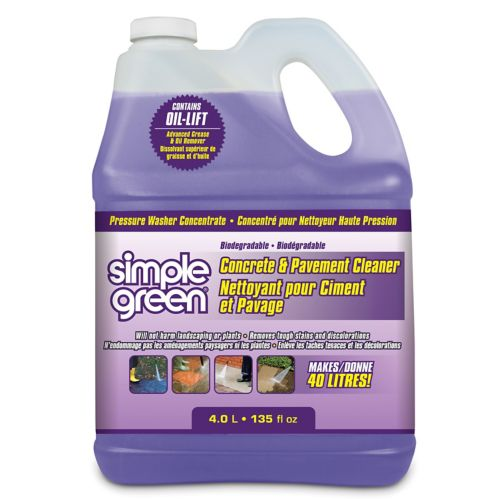 Simple Green Driveway & Concrete Cleaner Pressure Washer Cleaner Product image