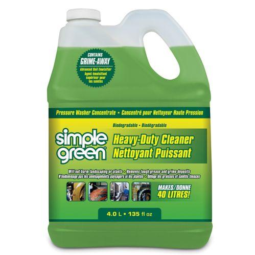 Simple Green Heavy-Duty Pressure Washer Detergent