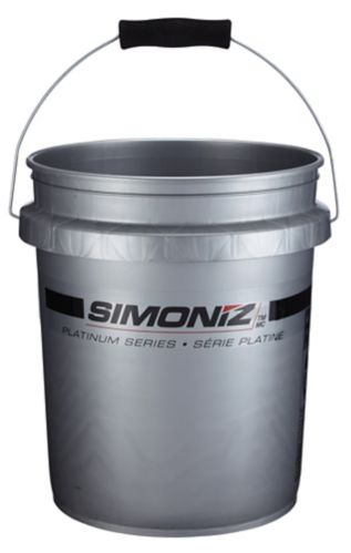 Simoniz Platinum Bucket with Grit Guard, 5-gal