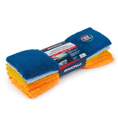 SIMONIZ Microfibre Edgeless Towels, 8-pk Product image