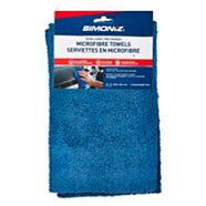 SIMONIZ Microfibre Towels, 12-in x 15-in, 2-pk