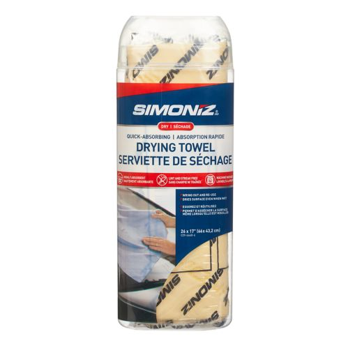 SIMONIZ Drying Towel, 12-in x 25.5-in