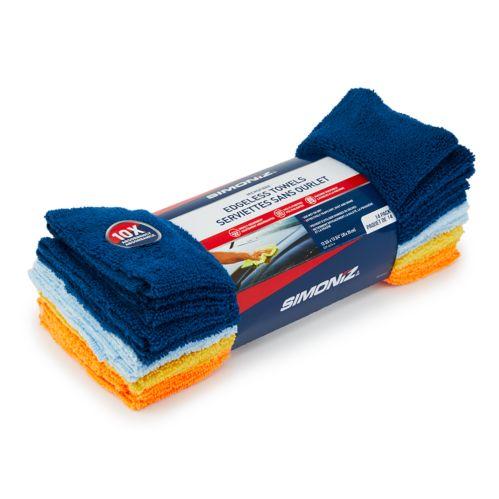 SIMONIZ Microfibre Edgeless Towels, 14-pk Product image