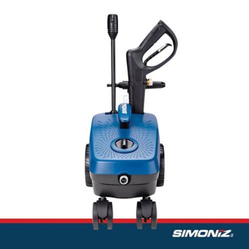 Simoniz 1600 PSI Electric 4-Wheel Pressure Washer