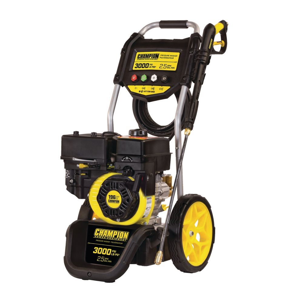 Champion 3000 Gas Pressure Washer