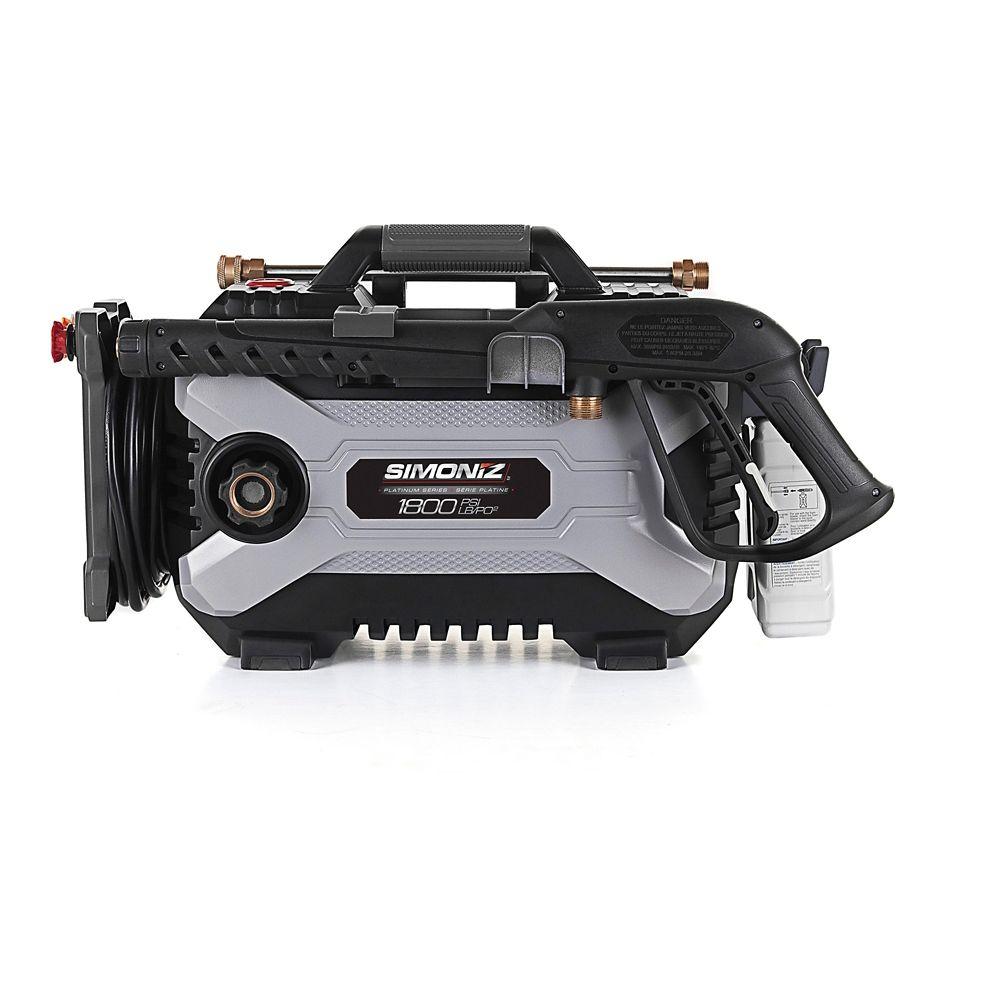 Simoniz Platinum 1800 PSI Compact Electric Pressure Washer VE20