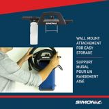 Simoniz Compact 1650 PSI Electric Pressure Washer | Simoniznull