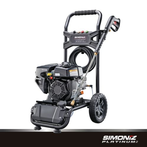 Simoniz Platinum 3000 PSI Gas Pressure Washer with Pump Product image