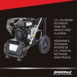 Simoniz Platinum 3000 PSI Gas Pressure Washer with Pump   Simoniznull