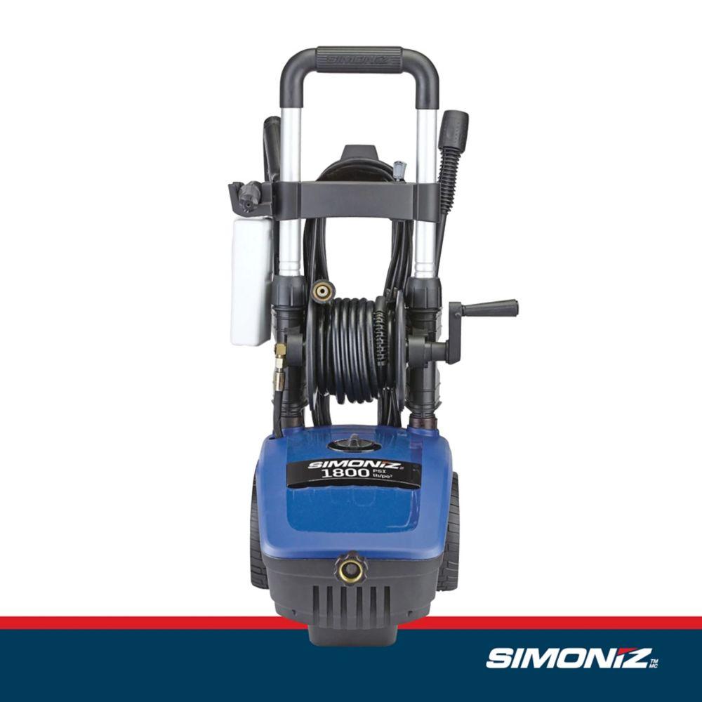 Simoniz 1800 PSI/1.4 GPM Electric Pressure Washer VE12
