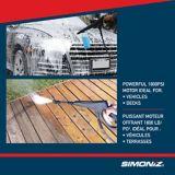 Simoniz 1800 PSI Electric Pressure Washer   Simoniznull