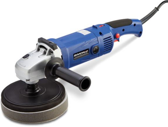 SIMONIZ Light-Duty Right Angle Polisher & Sander, 7-in