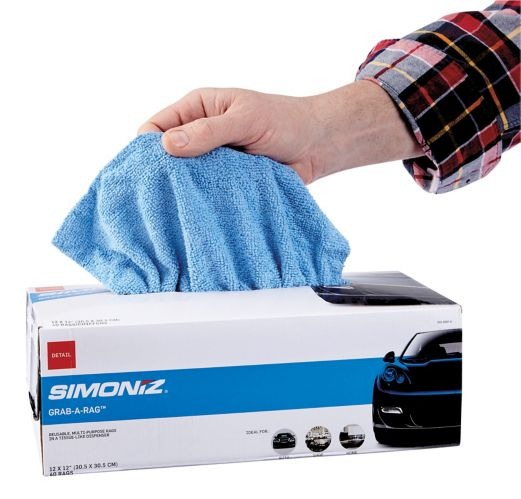 SIMONIZ Grab-a-Rag, 40-pk Product image