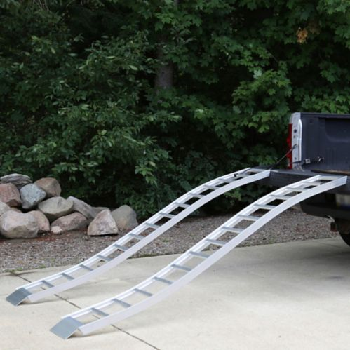 Cargosmart Aluminum S Curve Fixed Ramp Pair 90 In Canadian Tire