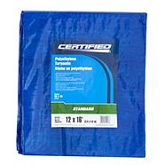 Canvas Tarp, 8 x 10-ft