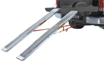 Traction Cut Out Steel Loading Ramps Pair 72 In Canadian Tire