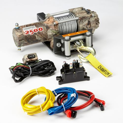 Champion Camo Winch Kit 2 500 Lb, Champion Winch Wiring Diagram