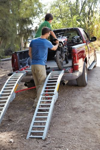 Steel Rung Folding Arched Loading Ramp Pair 84 In Canadian Tire
