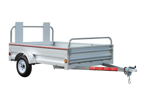 Stirling Galvanized Utility Trailer, 5-ft x 7-ft Product image