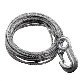 3/16-in  Galvanized-Steel Winch Cable